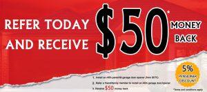 Tilt garage door opener discounted price