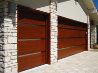 Custom door design lunetta style