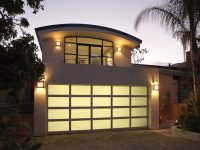 Custom design garage door - Ekstra style