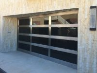 Custom designed garage door winchester style