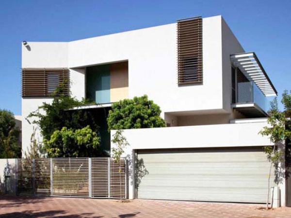 Shale Grey Panel lift Garage Door in Slimline Design