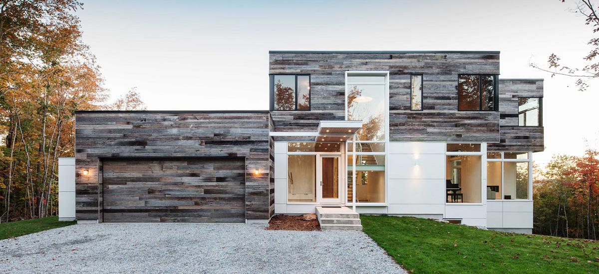 Sectional custom design garage door