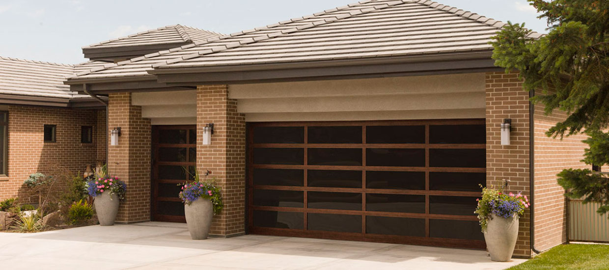 Custom design sectional garage door Melbourne