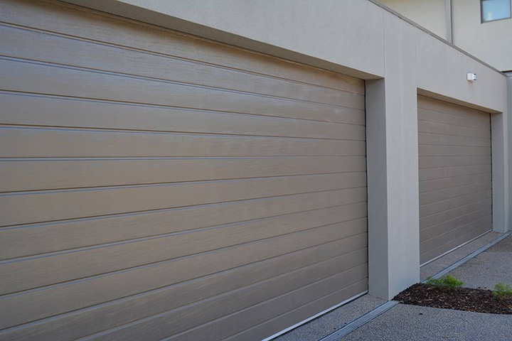 Jasper Color, slimline design, textured finish - panel lift door